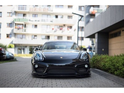Porsche Cayman 981 MX Frontansatz