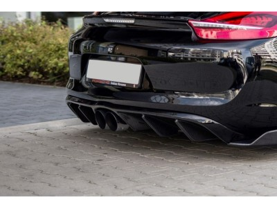 Porsche Cayman 981 MX Rear Bumper Extension