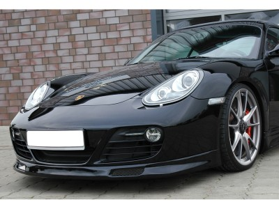 Porsche Cayman 987 Facelift Intenso Front Bumper Extension