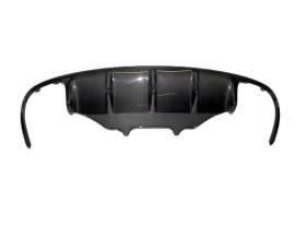 Porsche Macan Extensie Bara Spate Supreme Fibra De Carbon