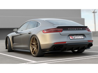 Porsche Panamera 971 MX Rear Bumper Extension