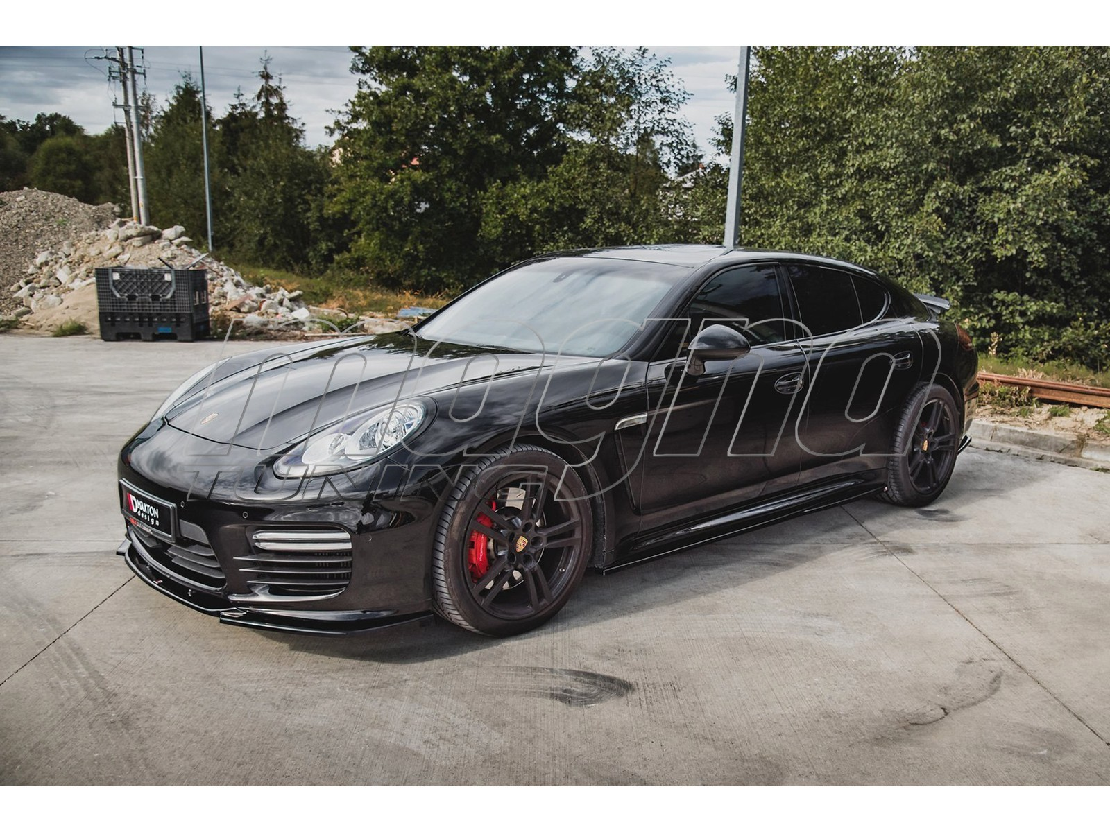 Porsche Panamera MX Side Skirt Extensions