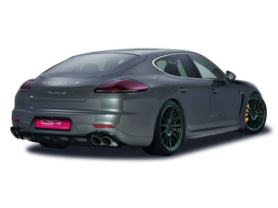 Porsche Panamera NewLine Rear Bumper Extension