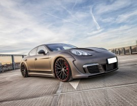 Porsche Panamera P2 Wide Body Kit