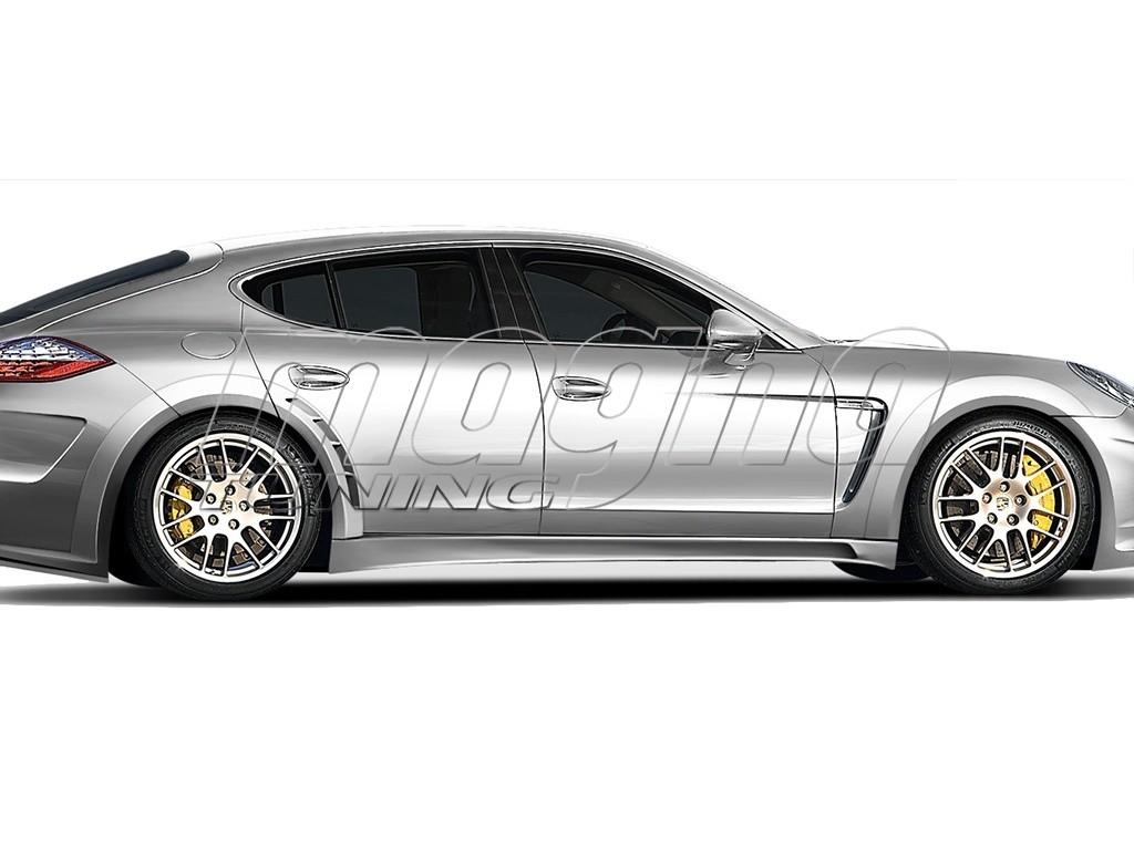 Porsche Panamera Wide Body Kit Evolva