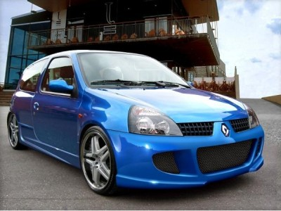Renault Clio MK2 DX Frontstossstange