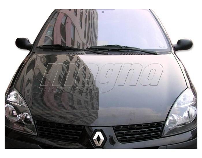 Renault Clio MK2 Facelift Capota OEM Fibra De Carbon