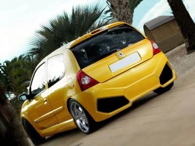 Renault Clio MK2 Lambo-Style Rear Bumper