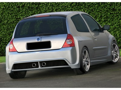 Renault Clio MK2 Macave Wide Rear Wheel Arch Extensions