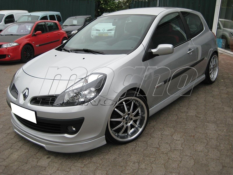 renault clio mk3 intenso front bumper extension. Black Bedroom Furniture Sets. Home Design Ideas