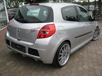 Renault Clio MK3 Intenso Heckstossstange