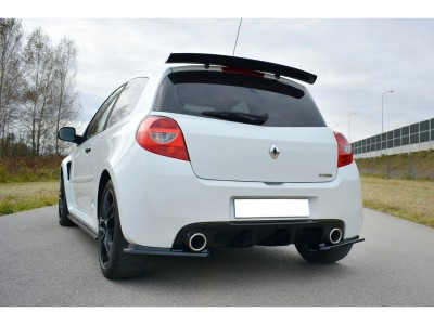 Renault Clio MK3 RS Matrix Rear Bumper Extensions