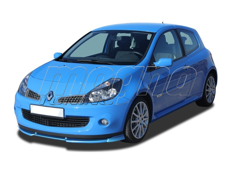 renault clio mk3 rs verus x front bumper extension. Black Bedroom Furniture Sets. Home Design Ideas