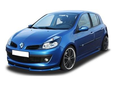 Renault Clio MK3 V1 Front Bumper Extension