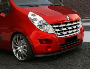 Renault Master MK3 M-Line Front Bumper Extension