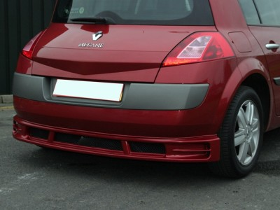 Renault Megane MK2 Evolva Rear Bumper Extension