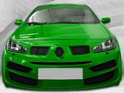 Renault Megane MK2 Facelift Body Kit Speed