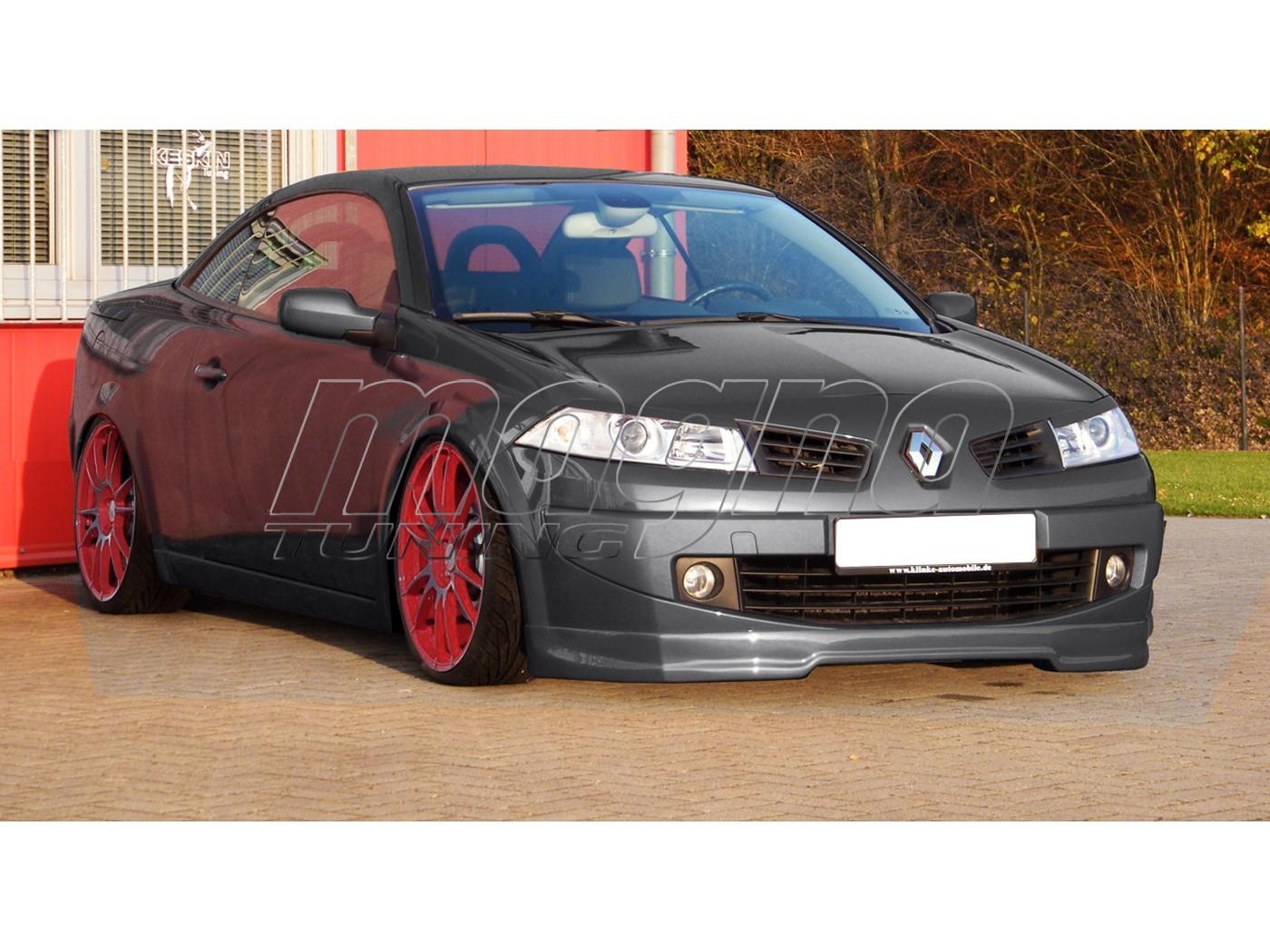Renault Megane MK2 Facelift Intenso Front Bumper Extension