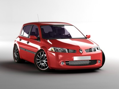 Renault Megane MK2 Facelift RS-Look Front Bumper