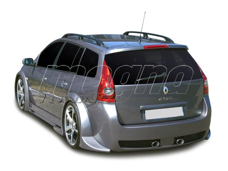 Renault Megane Mk2 Grandtour Rs Replica Rear Bumper