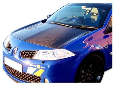 Renault Megane MK2 R26R-Look Carbon Fiber Hood