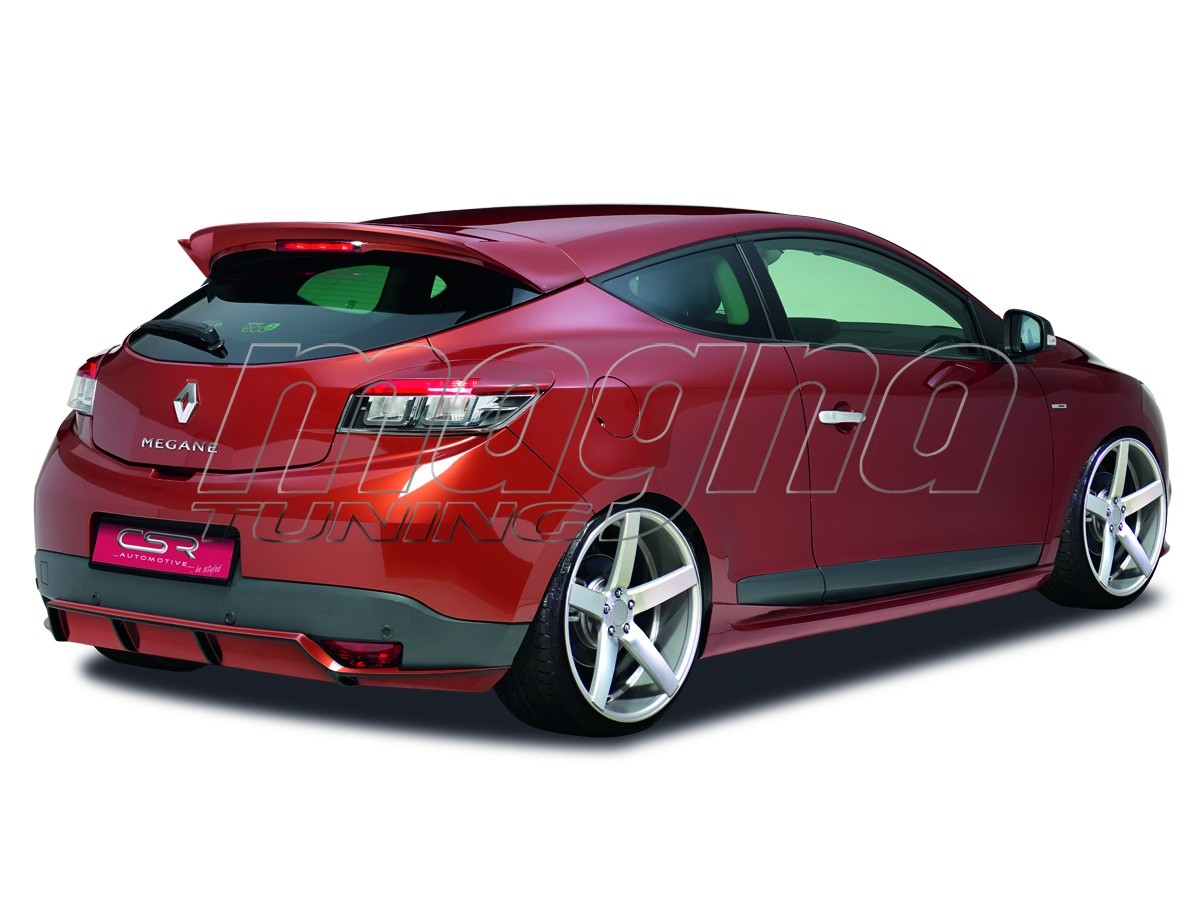 renault megane mk3 coupe newline rear wing. Black Bedroom Furniture Sets. Home Design Ideas