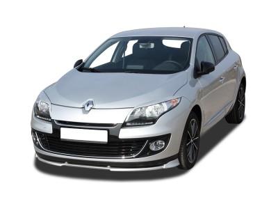 Renault Megane MK3 Facelift VX2 Front Bumper Extension