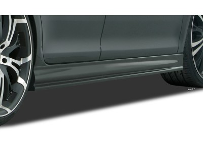 Renault Megane MK3 Hatchback/Limousine Evolva Side Skirts