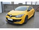 Renault Megane MK3 RS RaceLine Front Bumper Extension