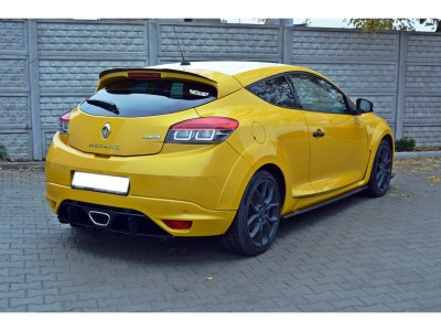 Renault Megane MK3 RS RaceLine Rear Bumper Extension