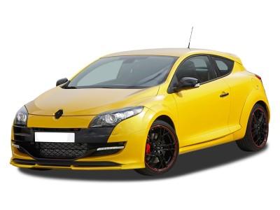 Renault Megane MK3 RS VXR Front Bumper Extension