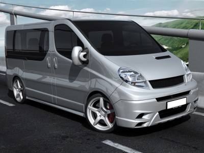 Renault Trafic Facelift Matrix Body Kit