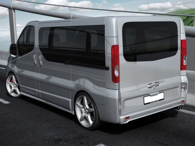 Renault Trafic Long Matrix Side Skirts