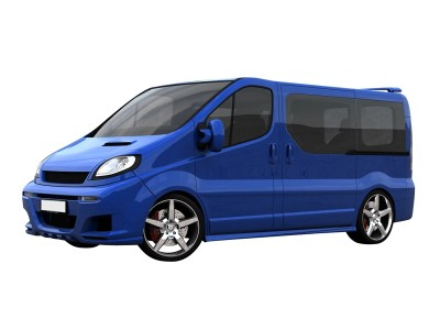 Renault Trafic Long Speed Side Skirts