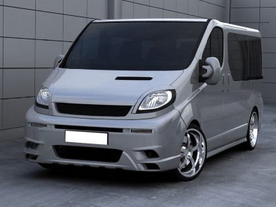 Renault Trafic Matrix Side Skirts
