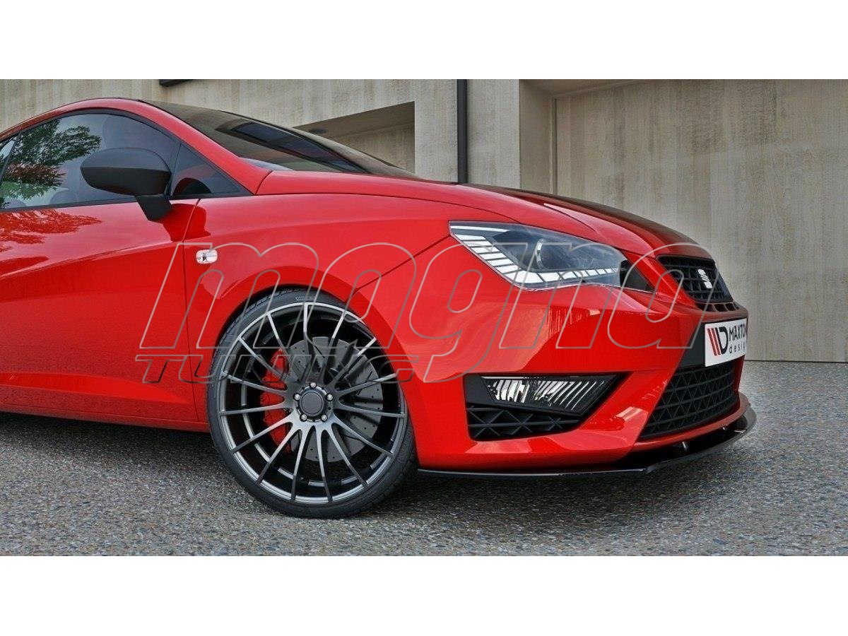 seat ibiza 6j cupra facelift m2 front bumper extension. Black Bedroom Furniture Sets. Home Design Ideas
