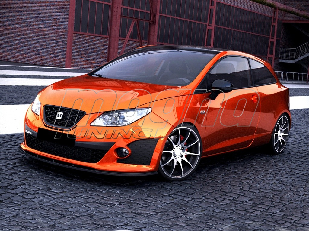 seat ibiza 6j cupra mx front bumper extension. Black Bedroom Furniture Sets. Home Design Ideas