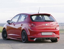 Seat Ibiza 6J E-Style Rear Bumper Extension