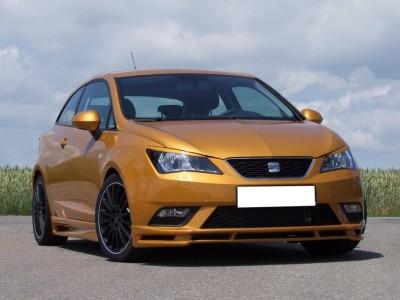 Seat Ibiza 6J Facelift E-Style Front Bumper Extension