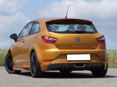 Seat Ibiza 6J Facelift E-Style Rear Bumper Extension
