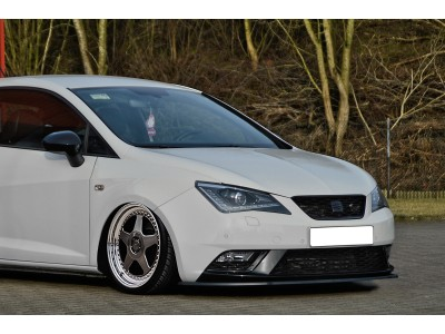 Seat Ibiza 6J Facelift Intenso Front Bumper Extension