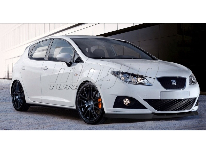 seat ibiza 6j m line front bumper extension. Black Bedroom Furniture Sets. Home Design Ideas