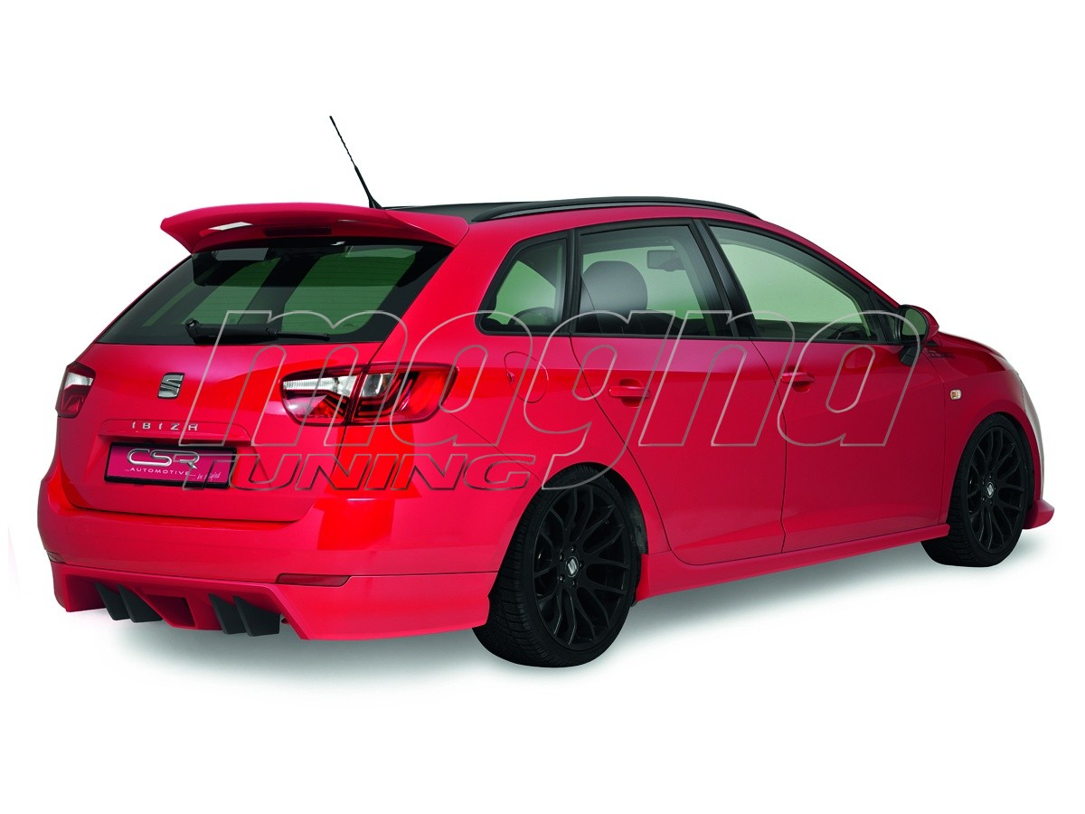 seat ibiza 6j st crono rear bumper extension. Black Bedroom Furniture Sets. Home Design Ideas