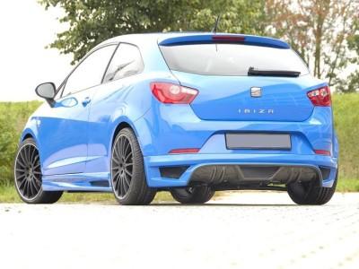 Seat Ibiza 6J SportCoupe E-Line Rear Bumper Extension