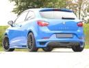 Seat Ibiza 6J SportCoupe E-Style Rear Bumper Extension