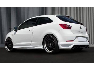 Seat Ibiza 6J SportCoupe Vortex Rear Bumper Extension