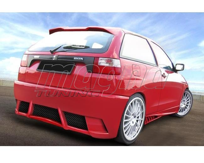 seat ibiza 6k bsx rear bumper. Black Bedroom Furniture Sets. Home Design Ideas