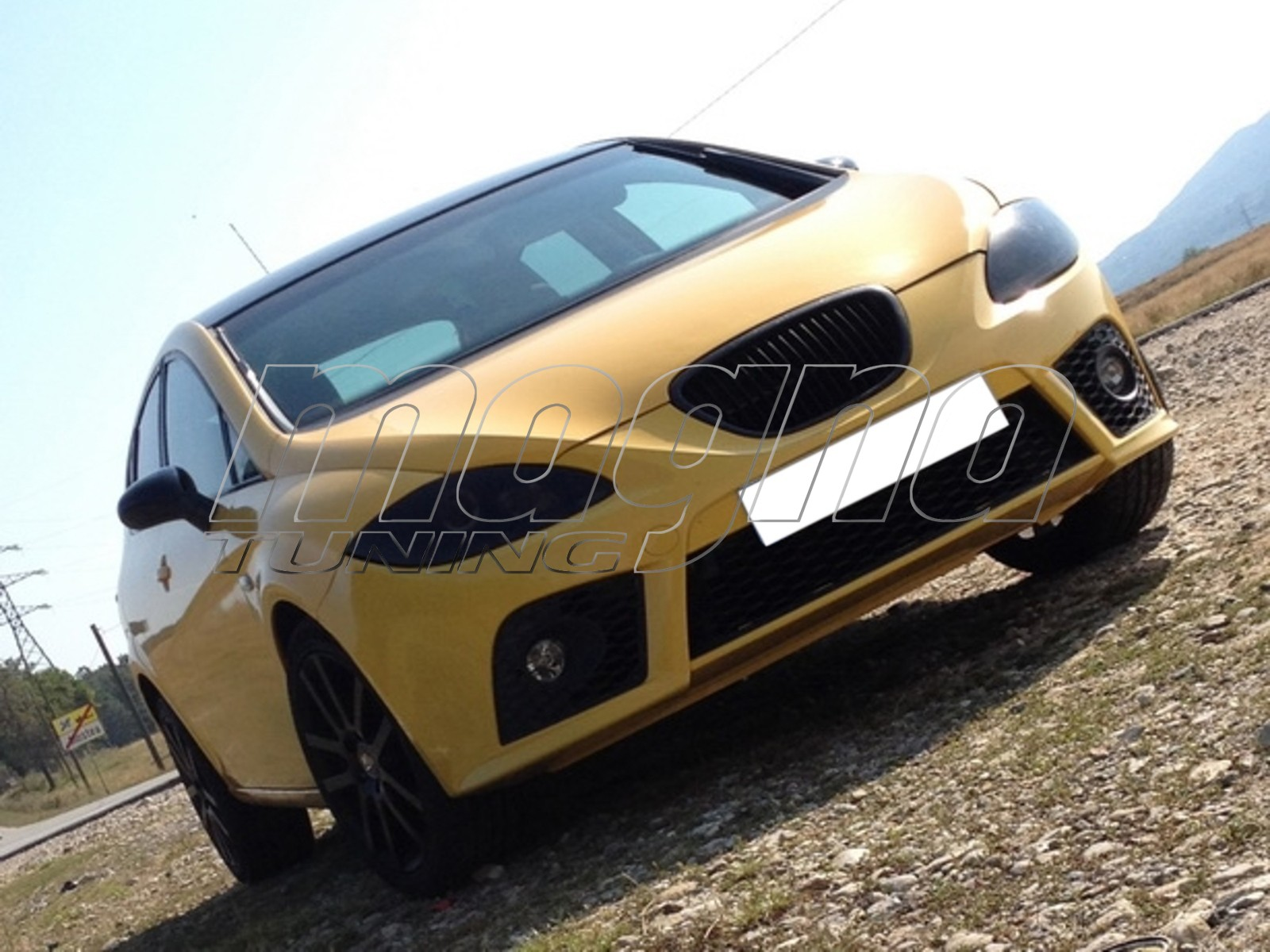 seat leon 1p cupra fr replica front bumper. Black Bedroom Furniture Sets. Home Design Ideas