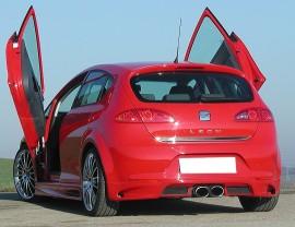 Seat Leon 1P E-Style Rear Bumper Extension