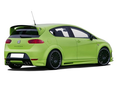 Seat Leon 1P Facelift Cupra/FR E2 Rear Bumper Extension